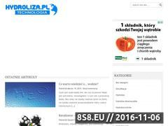 Miniaturka domeny www.hydroliza.pl