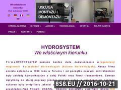 Miniaturka hydrosystem.pl (Regeneracja maglownic i przekładni kierowniczych)