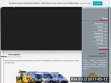 Zrzut strony Usługi wywrotką z HDS - Hydrotech