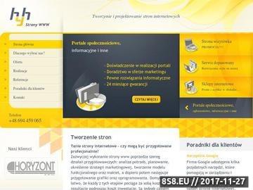 Zrzut strony Hyh - tworzenie stron internetowych Katowice, Tychy, Śląsk