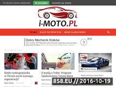 Miniaturka domeny www.i-moto.pl