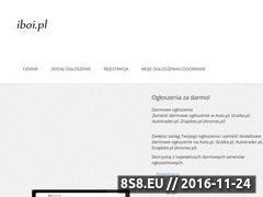 Miniaturka www.iboi.pl (Iboi.pl - ogłoszenia motoryzacyjne)