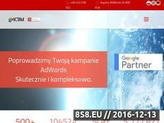 Miniaturka domeny www.icbm.pl