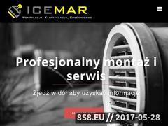 Miniaturka icemar.pl (Montaż instalacji klimatyzacji i rekuperacji)