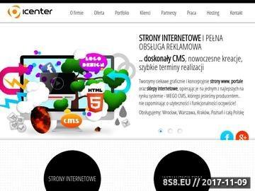 Zrzut strony Strony internetowe Wrocław