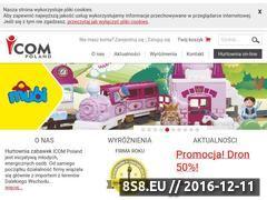 Miniaturka domeny www.icom-poland.com