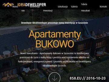 Zrzut strony Oferta Dewelopera Nowe mieszkania na sprzedaż w Szczecinie