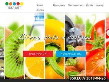 Zrzut strony Odchudzanie, skuteczne diety, porady, opinie ideadiet.pl