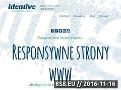 Miniaturka domeny ideative.pl