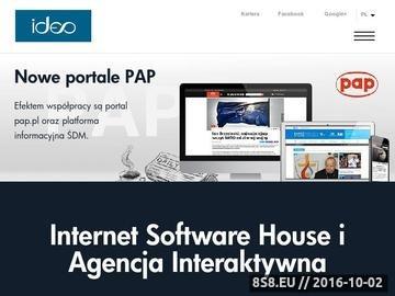 Zrzut strony Pozycjonowanie serwisów