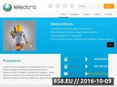 Miniaturka www.ielectro.pl (Instalacje elektryczne Wrocław)