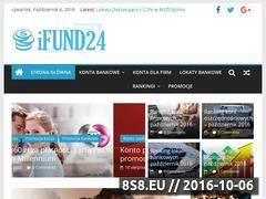 Miniaturka ifund24.pl (Przegląd nowości i ofert banków)