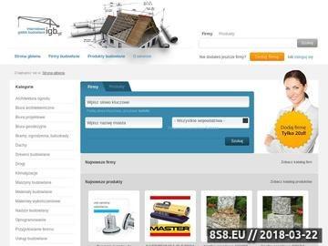 Zrzut strony Internetowa Giełda Budowlana