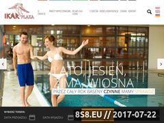 Miniaturka ikar-plaza.pl (Komfortowe noclegi nad morzem w Kołobrzegu)