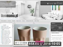 Miniaturka domeny ikeomania.pl
