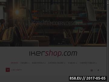 Zrzut strony Ikershop meble