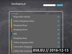 Miniaturka domeny iloveshopping.pl