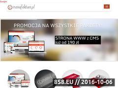 Miniaturka domeny imanufaktura.pl
