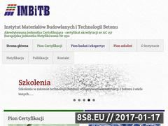 Miniaturka domeny www.imbitb.pl