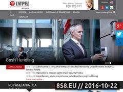 Miniaturka domeny www.impelsecurity.pl