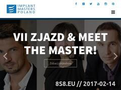 Miniaturka implantmasterspoland.pl (Usługi stomatoogiczne)