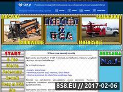 Miniaturka domeny www.import-z-usa.cba.pl