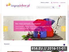 Miniaturka domeny impradekor.pl