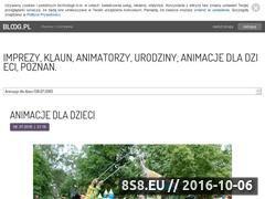 Miniaturka domeny www.imprezydladzieci.bloog.pl