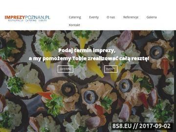 Zrzut strony Catering dla firm Poznań