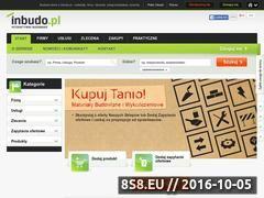 Miniaturka inbudo.pl (Zlecenia, materiały i firmy budowlane - Inbudo.pl)