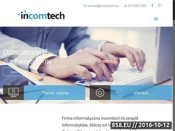 Zrzut strony Obsługa informatyczna, serwis IT, Linux, sieci komputerowe