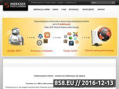 Miniaturka domeny www.indekserpozycjonera.pl