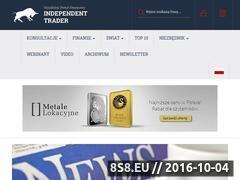 Miniaturka domeny independenttrader.pl