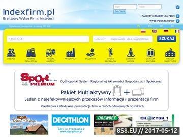 Zrzut strony Katalog polskich firm - Indexfirm