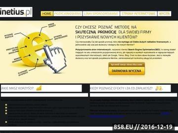 Zrzut strony Pozycjonowanie Poznań