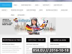 Miniaturka domeny www.infinity-krakow.pl