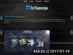 Miniaturka domeny influencja.pl