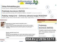 Miniaturka domeny www.info-med.pl