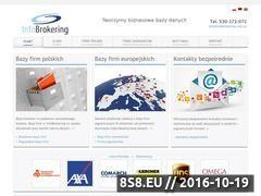 Miniaturka domeny infobrokering.info