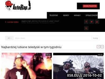 Zrzut strony Polski i Zagraniczny Hip-Hop