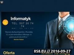Miniaturka Profesjonalne usługi informatyczne (informatyk.sosnowiec.pl)