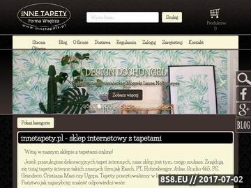 Zrzut strony Tapety dekoracyjne