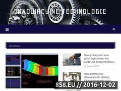 Miniaturka domeny innowacyjnetechnologie.com.pl