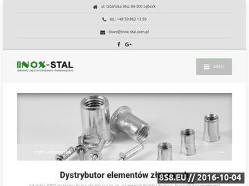 Zrzut strony Śruby nierdzewne kwasoodporne INOX - STAL