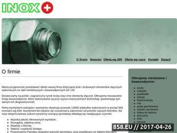 Zrzut strony Inox Plus - śruby, elementy śrubowe