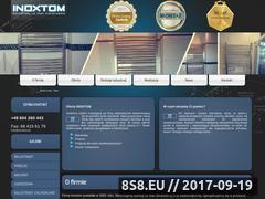 Miniaturka domeny www.inoxtom.pl