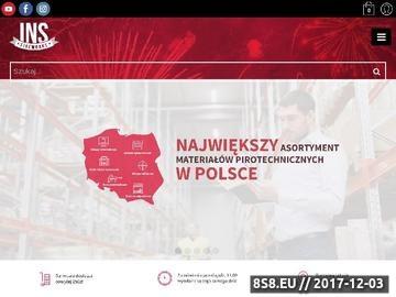 Zrzut strony Tanie Fajerwerki INS fireworks