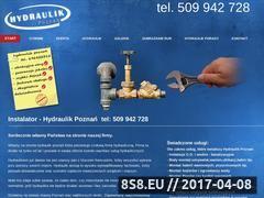 Miniaturka domeny www.instalator-hydraulik.poznan.pl