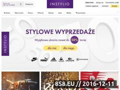 Miniaturka domeny instylio.pl