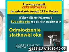 Miniaturka instytutoka.pl (Centrum diagnostyki i terapii chorób siatkówki)